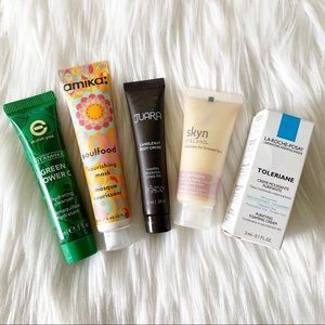 Skincare: Mask, Cleanser, Lotion, Body Creme